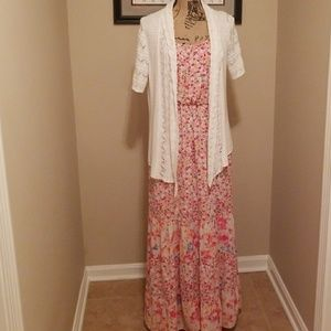 Maxi Dress w/ Sweater
